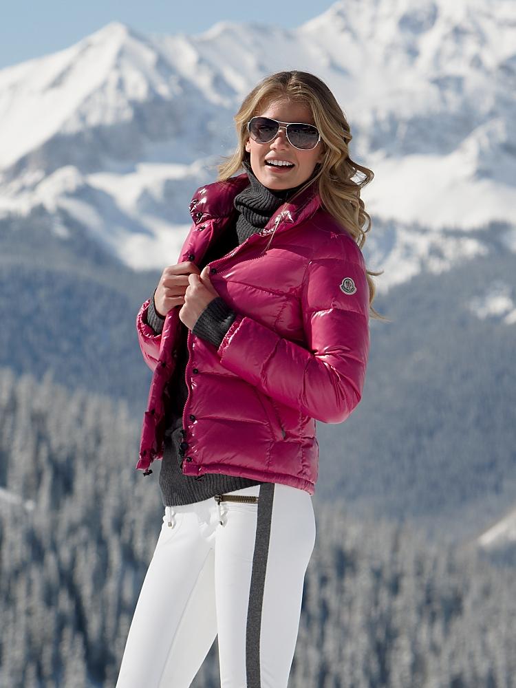 "a79064c4a Moncler ""Clairy"" down jacket – pink   SHINY NYLON"