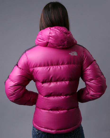 pink hooded the north face u201ctahoe u201d down jacket shiny nylon rh shinynylon wordpress com