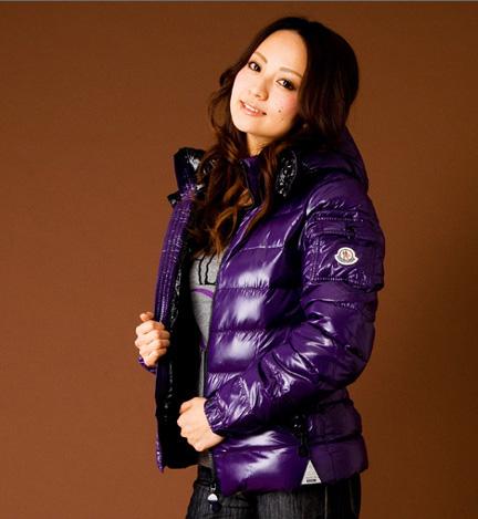moncler bady purple