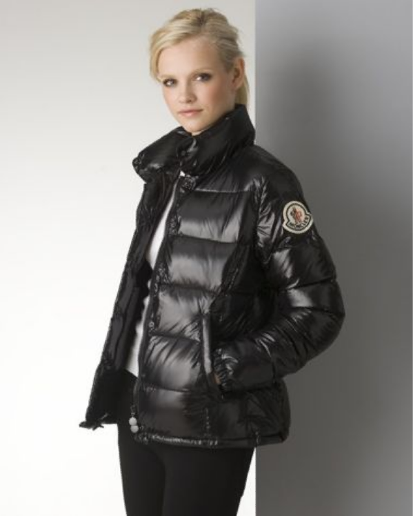 "3a7f75ed2 Black Moncler ""Claire"" down jacket 