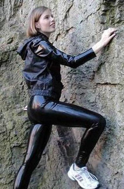 nylon leggings Latex