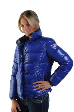 "finest selection 93a22 87ee5 Blue Moncler ""Clairy"" down jacket 