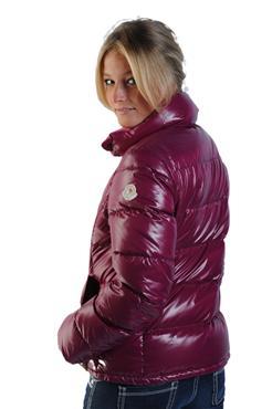 "Purple Moncler ""Clairy"" down jacket  bec1e30bb"