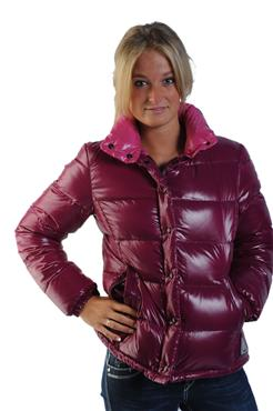 "lowest price c9235 10239 Purple Moncler ""Clairy"" down jacket 