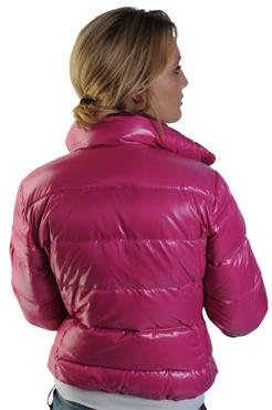"Pink Moncler ""Clairy"" down jacket  1a26b5fb3"