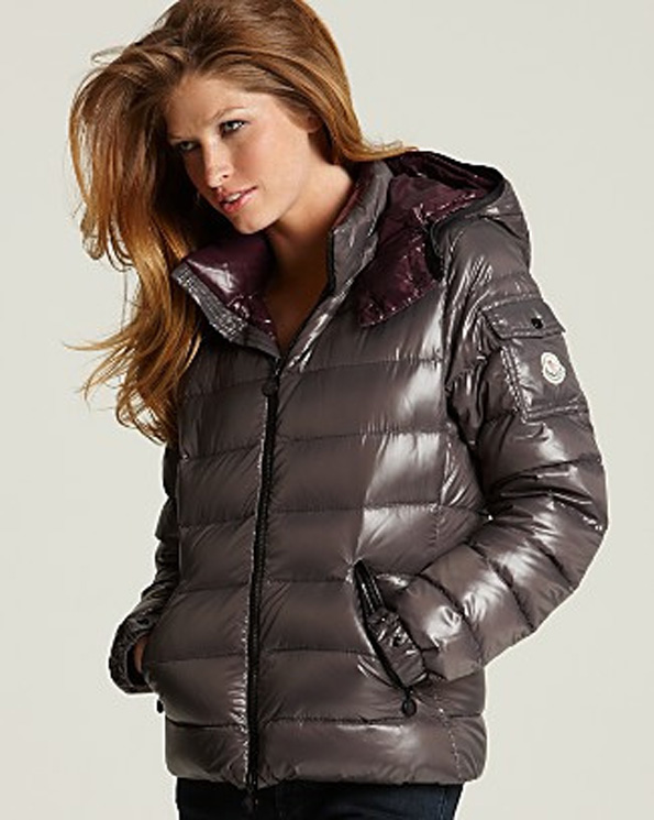 """10cdd227c Brown hooded Moncler """"Bady"""" down jacket"""