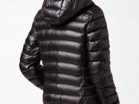 6529dc6ba257fd Black Lacoste down jacket