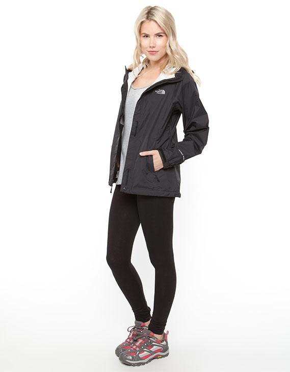 Women's venture jacket black
