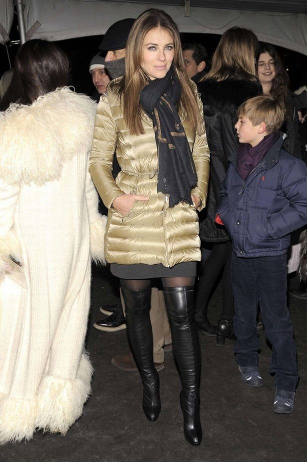 Elizabeth+Hurley1 Moncler+Grenoble+show+Fall+2012+Mercedes-Benz+Fashion+Week-fixed