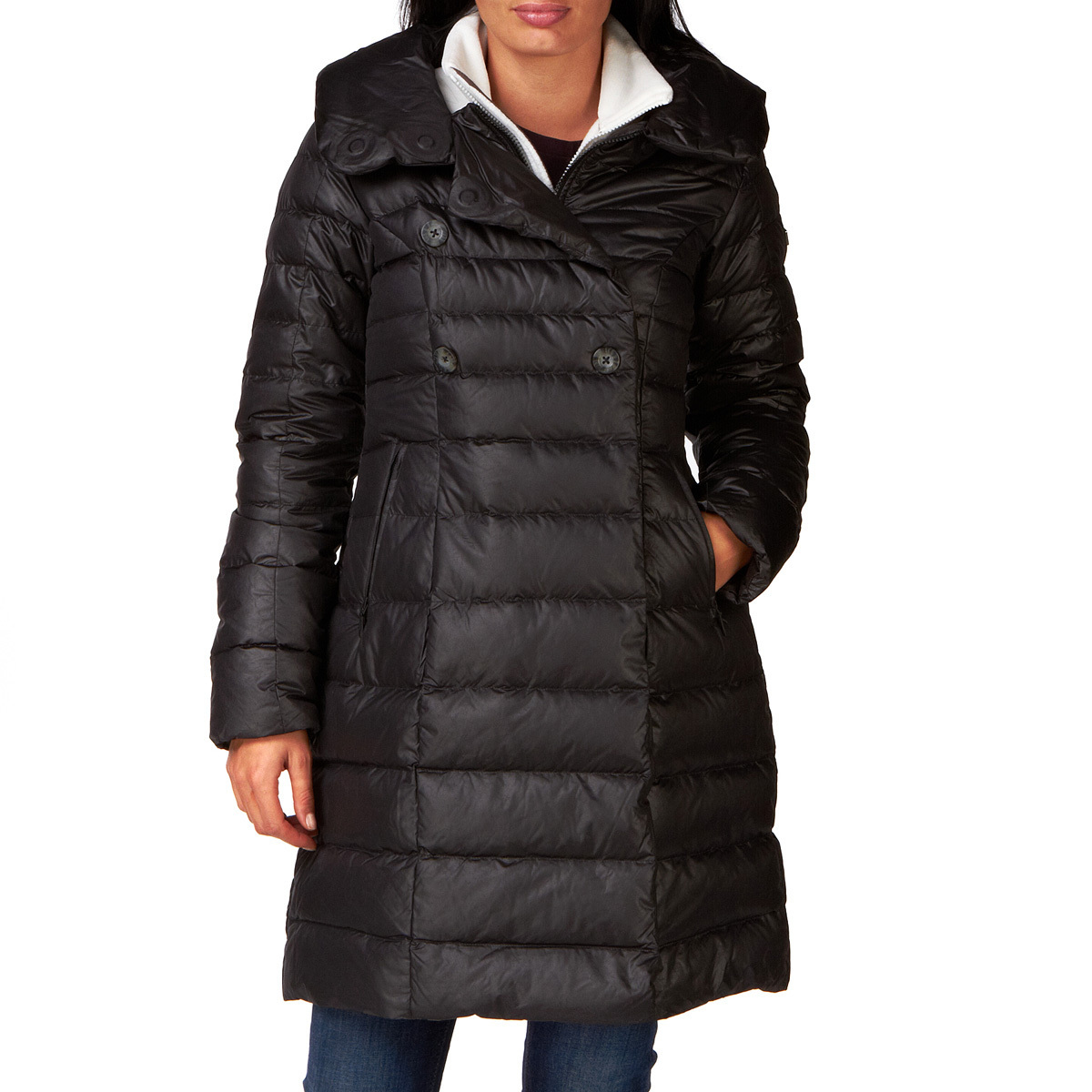 c991646424 Black The North Face down coat