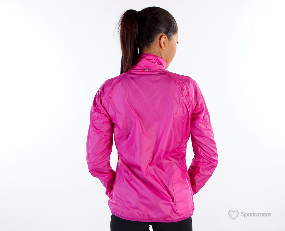 Pink Peak Performance rain jacket | SHINY NYLON