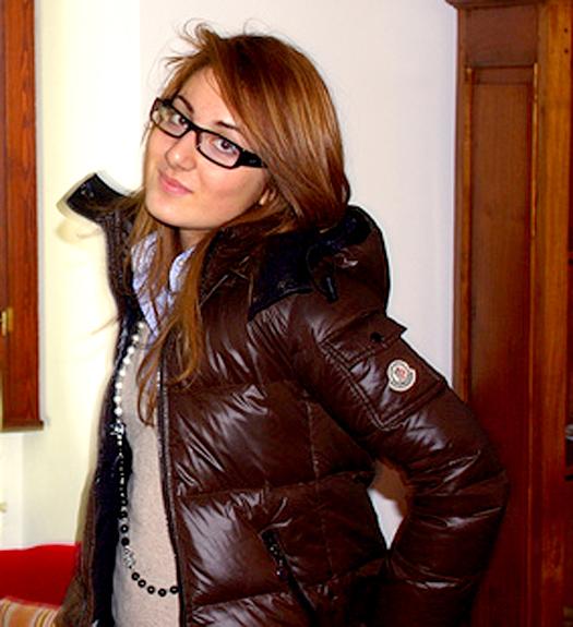 a07212b80 Brown Moncler 'Badia' down jacket | SHINY NYLON